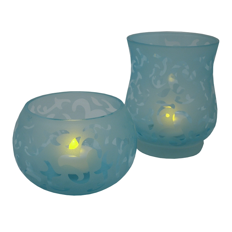 wholesale pacific accents wilmington etched tea light holders. Black Bedroom Furniture Sets. Home Design Ideas