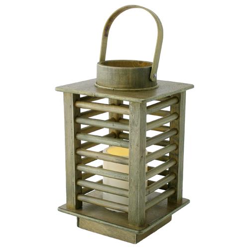 Wholesale Pacific Accents Humbolt Wooden Lantern