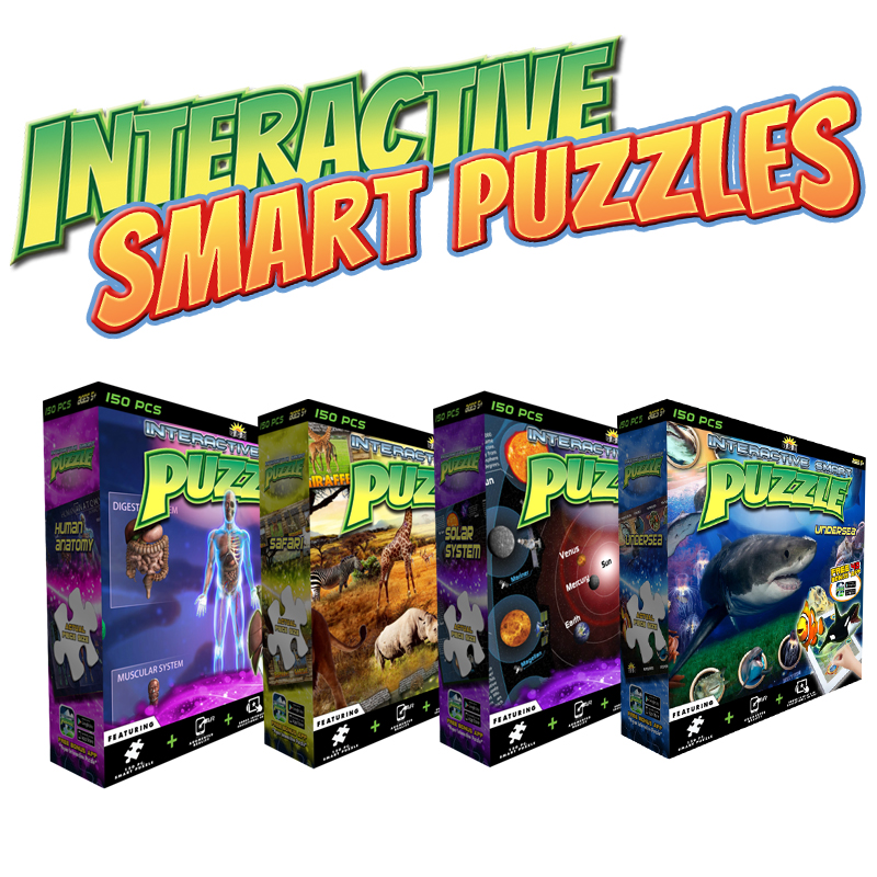Interactive Smart Puzzles