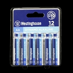Westinghouse AA Alkaline Battery 12 Pack Wholesale