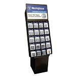 Westinghouse Alkaline Battery Self-Shipper Display Wholesale