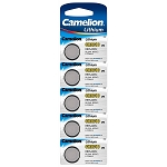 CR2016 3 Volt Lithium Button Cell Batteries 5 Pack