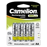 AA Ni-Cad Rechargeable Batteries 600mAh 4 pack