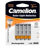 AAA Ni-MH 350mAh Rechargeable Batteries 4 Pack