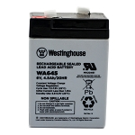 WA645 6v 4.5Ah Rechargeable Sealed Lead Acid Battery Wholesale
