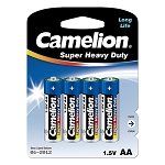 AA Super Heavy Duty Batteries 4 Pack
