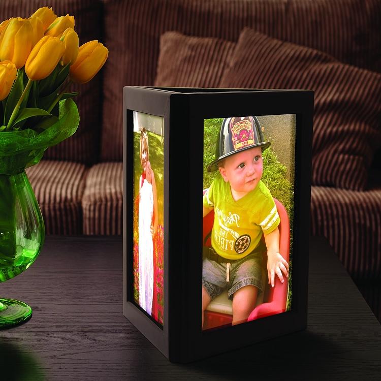 Photo Glo Personalized Flameless Photo Frame Luminary