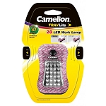 28 LED Pink Camo Work Light Single Package