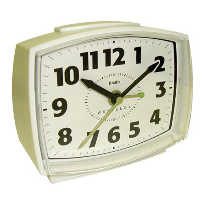 Electric Alarm Clock ~ Wholesale westclox electric alarm clock with lighted