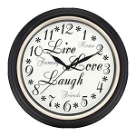 Westclox 32032A Live, Love and Laugh 12