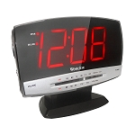 Westclox 80187A Large Display Clock Radio