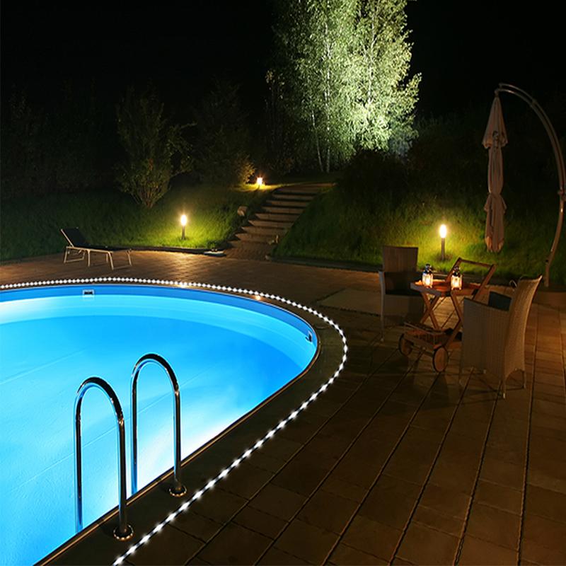 Led Rope Light For Swimming Pool: Wholesale Flipo Solar 50 LED Rope Lights