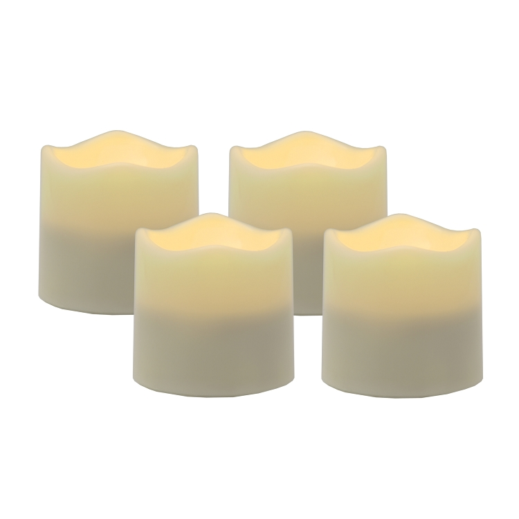 home flameless candles flameless led tea light candles with timer. Black Bedroom Furniture Sets. Home Design Ideas