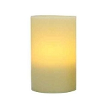 Flameless 3 x 6 Flat Top Wax Pillar Candle