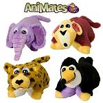 AniMates Cuddly Companions Plush Pillow