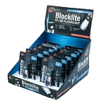 Blocklite 9-Volt Battery LED Flashlight 12 PC Display