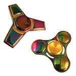 Rainbow Color Aluminum Spinner, assorted designs