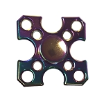 Collectable Rainbow Arrows Fidget Spinner- 4 sided
