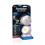 Revolution - 360° Rotation COB LED Light 2 Pack