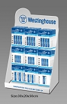 Westinghouse Dynamo Alkaline 96 pc. Battery Display