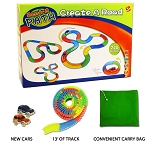 Bend a Path LIMITED EDITION Create a Road Car and Track Set With Carry Bag