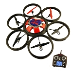 Flipo RC UFO Drone with 5 Blades