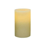 Flameless  Wax 3 x 5 Flat Top Pillar Candle