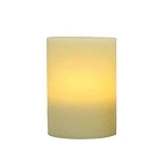 Flameless 4 x 5 Flat Top Wax Pillar Candle