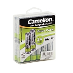AA Ni-Cad Rechargeable Batteries 800mAh 24 pack