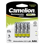 AAA Ni-Cad Rechargeable Batteries 300mAh 4pack