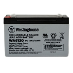 WA6120 6v 12Ah Rechargeable Sealed Lead Acid Battery Wholesale