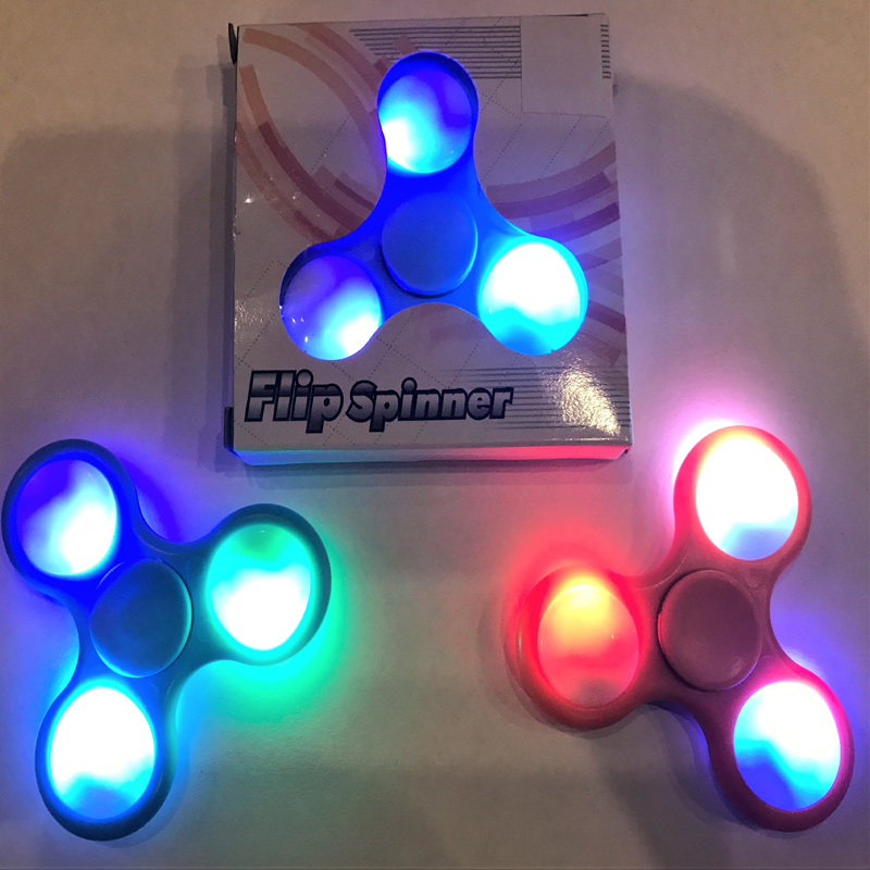 Flip Spinner - LED Fidget Spinning Toy