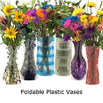 Bloomers Plastic Foldable Reusable Vase