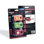 Vega 200 COB LED Ultralight 3-Pack Headlamps