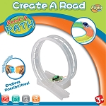 Bend A Path 360 Loop-de-Loop Clear Track Expansion Pack with Green 5LED trick SUV