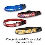 Wholesale Visiglo Illuminated Collar with Dual Function LED