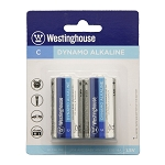 Westinghouse Dynamo Alkaline C Battery - 2 pack