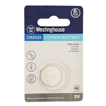 CR2025 Lithium Button Cell Battery Wholesale