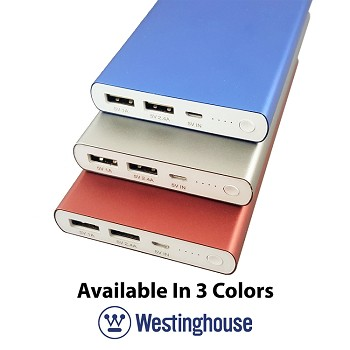 Westinghouse USB Portable Power Pack 10000 mAh