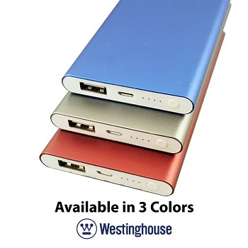 Westinghouse USB Portable Power Pack 4000mAh
