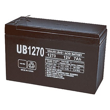 UPG 12 Volt 7.0 Amp AGM Sealed Lead Acid Battery with F2 Terminal