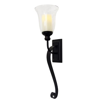 Serafina Wall Sconce with Flameless Candle