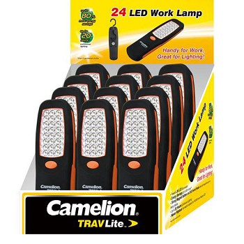 24 LED Work Light POP Counter Display of 12