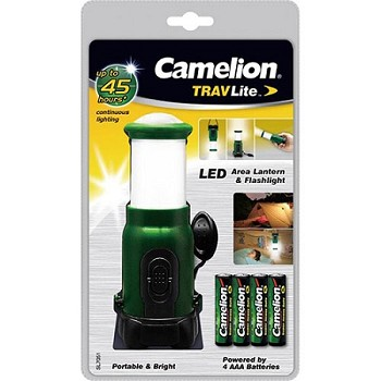 5 LED Lantern-Flashlight Combo