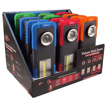Vulcan Dual Zoom Work Light 12 Piece Display